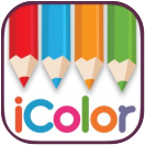 icolor coloring apps icon small