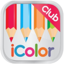 icolor club coloring apps icon small