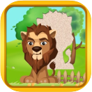 educational apps animal fun puzzles game lion puzzle small