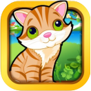cute cat puzzle game icon small