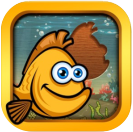 cute games for kids small fish icon