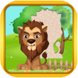 lion puzzle app icon small
