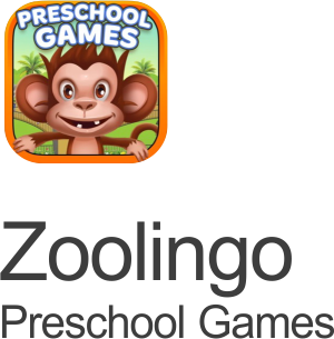 zoolingo preschool puzzle games icon on a transparent background