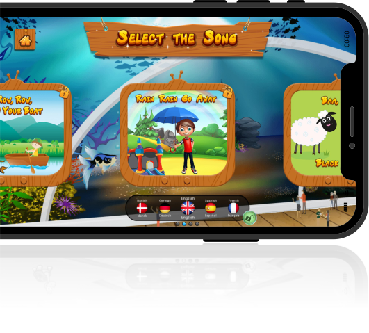 zoolingo select song from nursery rhymes